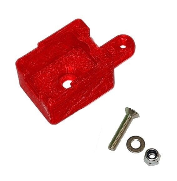 JS-Parts ultraflex Schalterhalter rot für Hobbywing MAX
