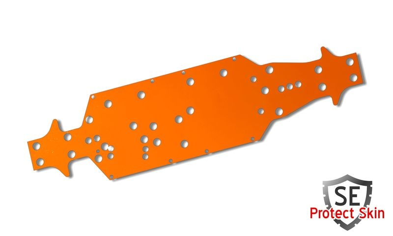 JS-Parts SE Protect Skin Unifarbe Orange