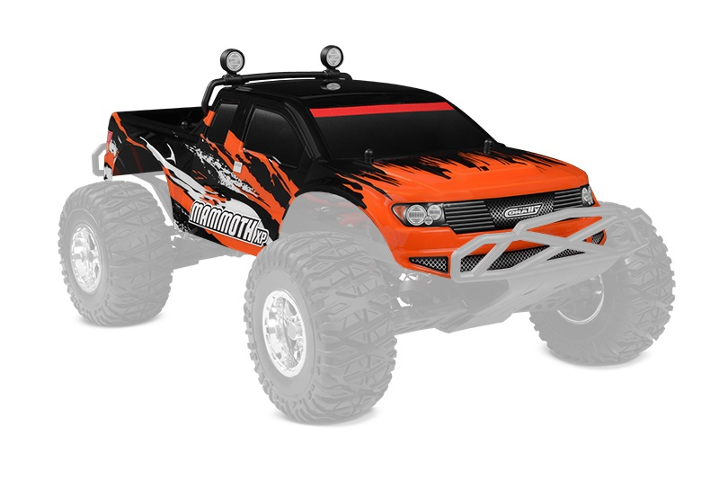 Team Corally Polycarbonate Body - Mammoth XP - Printed - Cut