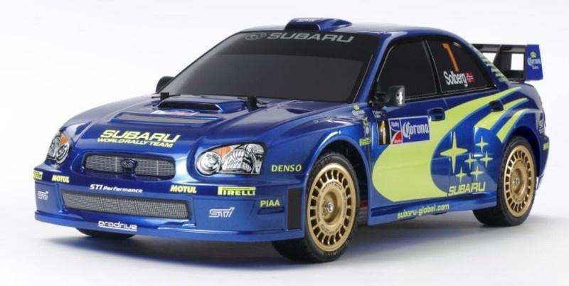 Tamiya RC Subaru Impreza WRX 2004 (TT-01E)