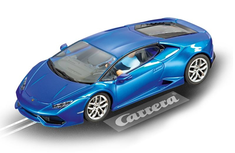 Carrera Evolution Lamborghini Huracan LP610-4 blau