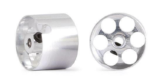 NSR 3/32 Alu Wheels f/Sponge 14,7x11mm (2)
