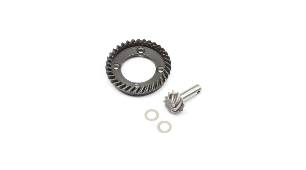 Losi Rear Ring & Pinion Gear Set: TENACITY (LOS232028)