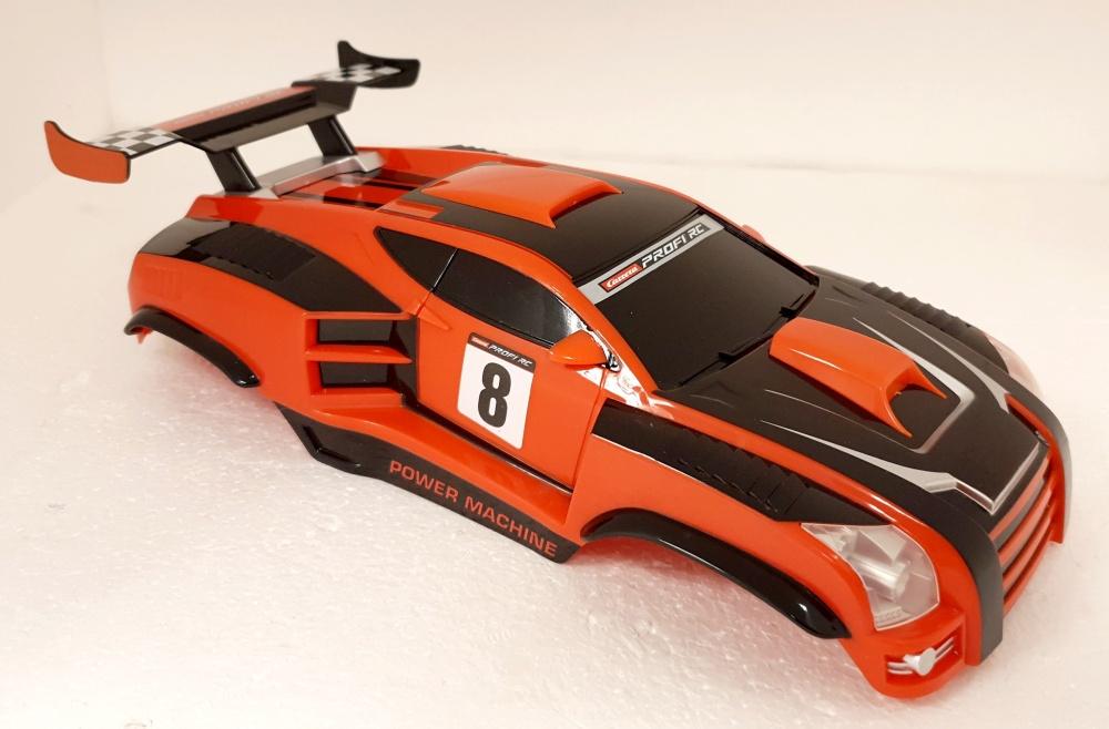 Carrera Profi RC Karosserie incl. LED Lichter Power Machine