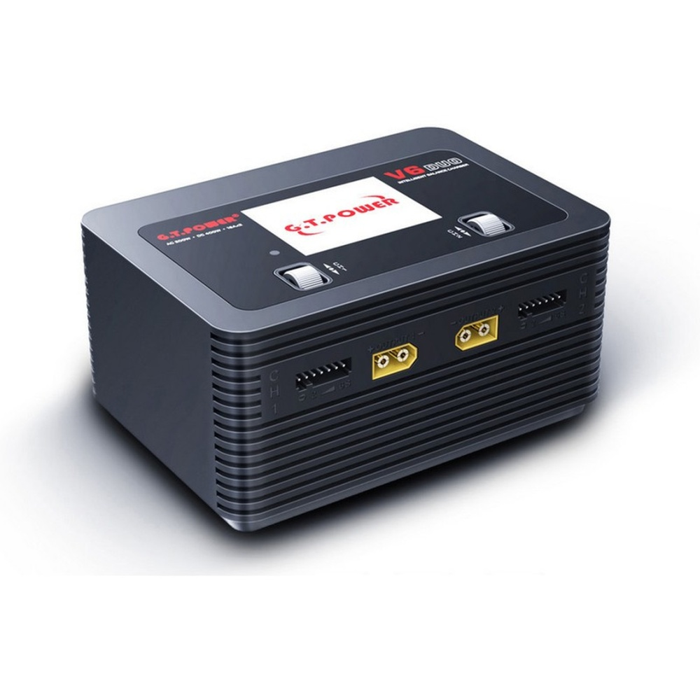 GT-POWER V6 Duo Charger AC/DC 16A 2x 200W