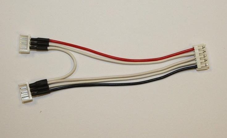 Ladekabel / Balancer-Adapterkabel 2x 2s auf 4s EH