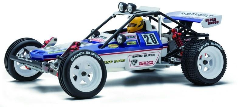 Kyosho Turbo Scorpion 2WDKit Legendary Series Bausatz 1:10