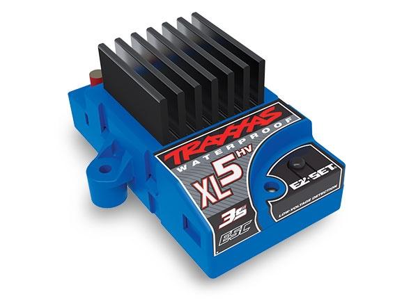 Traxxas XL-5HV 3s Fahrtenregler, waterproof (low-voltage