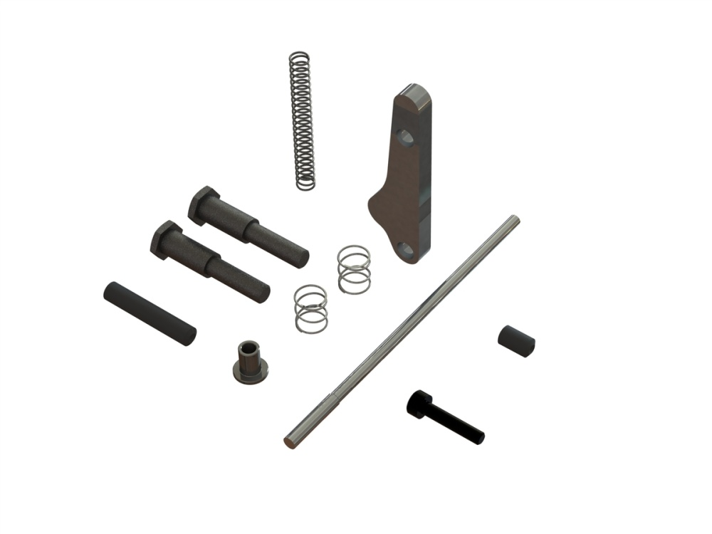 Arrma Handbrake Module Metal Parts Set (ARA311022)