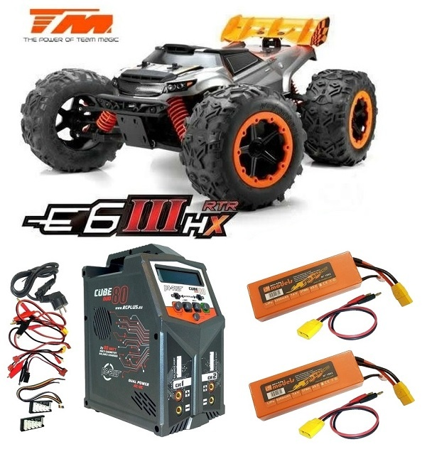Team Magic E6 III HX 4WD Electric Monster Truck BL