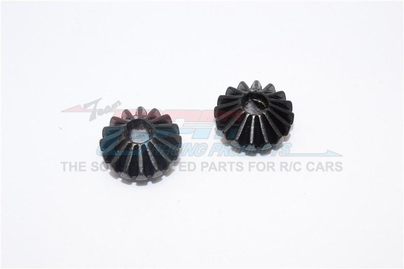 GPM steel large bevel gear - 2PCS for Tamiya TT-02 & TT-02B