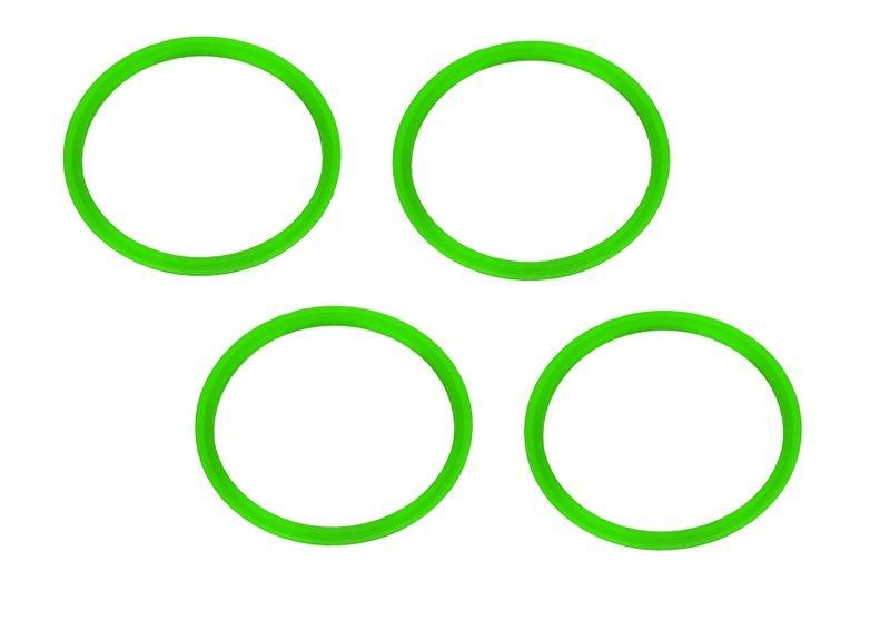 JS-Parts Felgenringe ultraflex grün passend für Off-Road