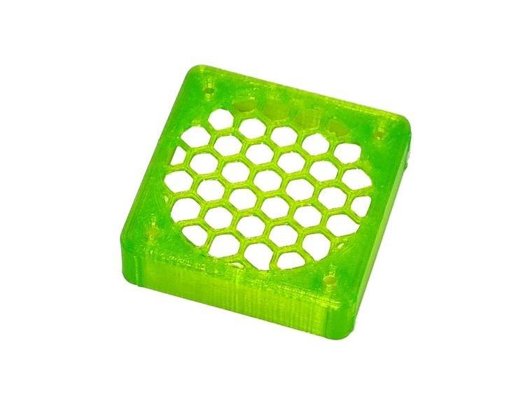 JS-Parts ultraflex Lüftergitter 40x10 geschlossen grün