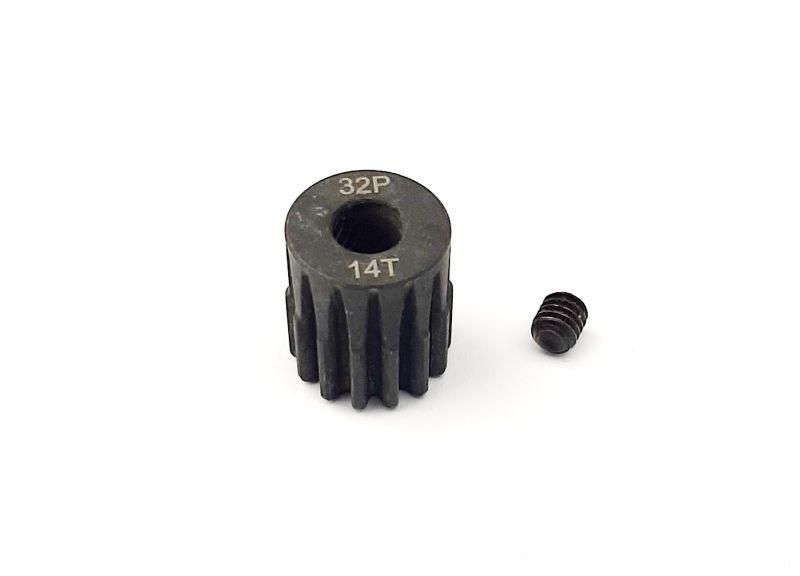 H-Speed Ritzel 14 Zähne 32dp, 5mm Stahl (M0.8)