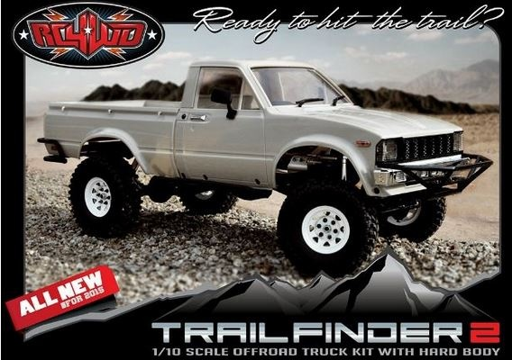 RC4WD Trail Finder 2 Truck Kit With Mojave II Body Set