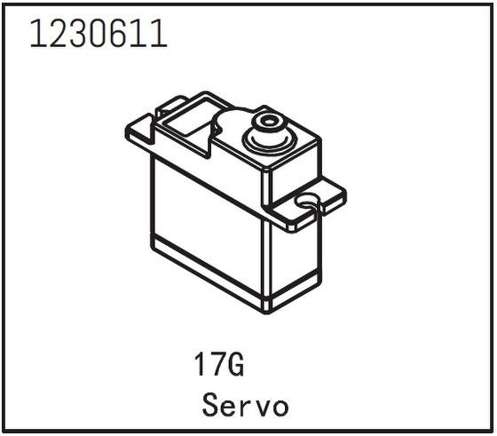 Absima 17g Mini Servo