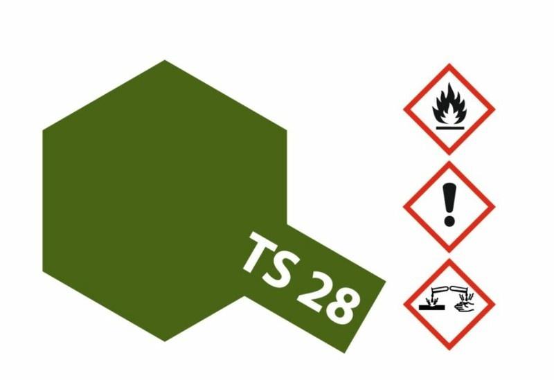Tamiya Acryl-Sprühfarbe TS-28 Braunoliv2 matt 100ml