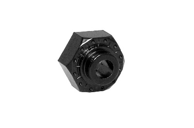 Axial - Aluminum Hex Hub 12mm Black (4)