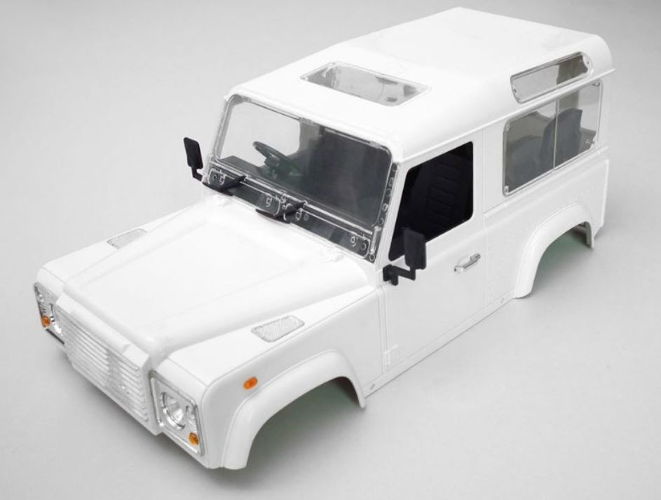 RC4WD Land Rover Defender D90 Hard Plastic Body Kit 1:10