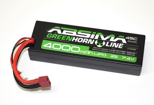 LiPo Stick Pack 7.4V-50C 4000 Hardcase V2 (T-Plug)