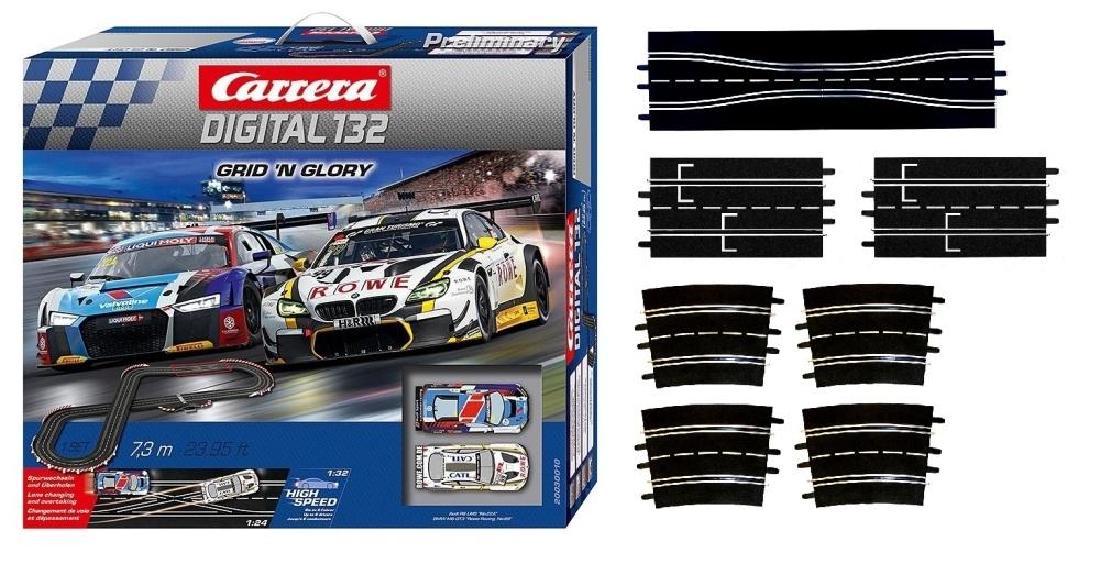 Carrera Digital 132 Grid n Glory  --SPARSET 1--