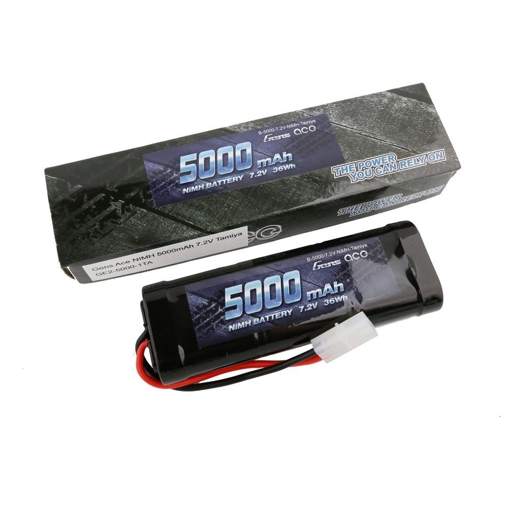 Gens ace Akku NiMh 7.2V-5000Mah (Tamiya)