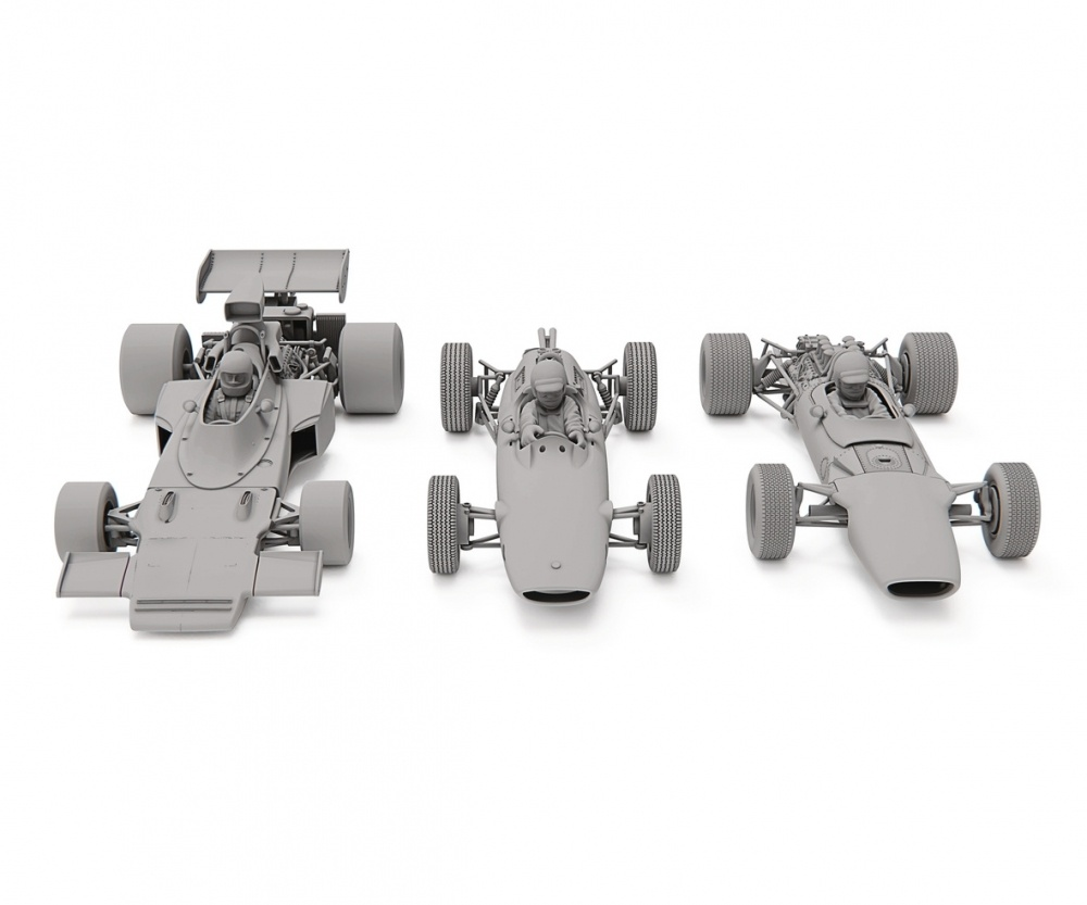Scalextric 1:32 Lotus F1 Triple Pack HD