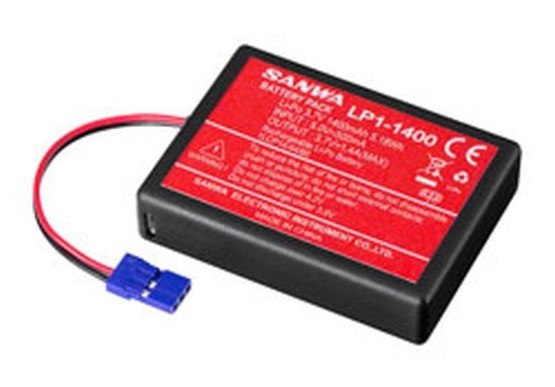 Sanwa OPT: LiPo 3,7V 1400mAh für Sanwa MT-44