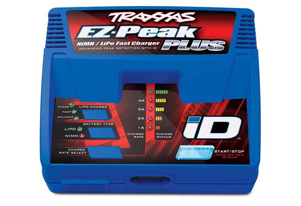 Traxxas EZ-Peak Plus 4-Amp NiMH/Lipo Schnell-Lader