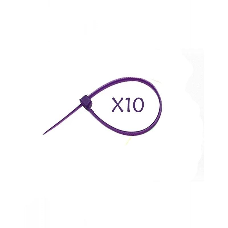 Flexytub Kabelbinder 3mmx100mm Purple (10 Stück)