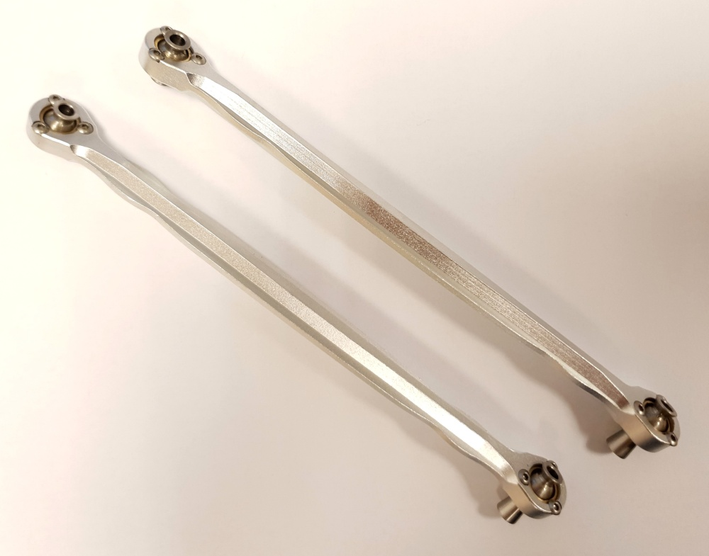 GPM aluminium front steering rod- 1PR Set for Traxxas X-Maxx