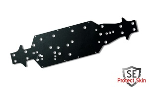 JS-Parts SE Protect Skin Unifarbe Schwarz